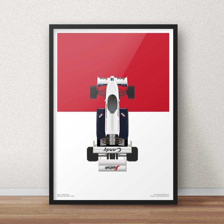 Toleman TG184 Senna Monaco